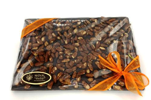 Tablette chocolat noir amandes Manon