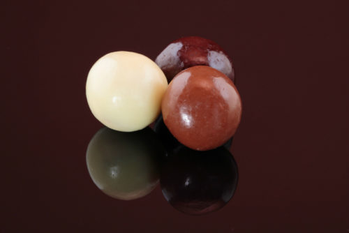 noisettes aux 3 chocolats