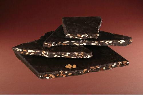 plaque chocolat noir amandes manon