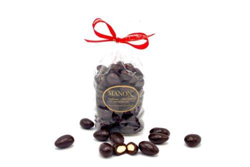 sachet amandes chocolat noir
