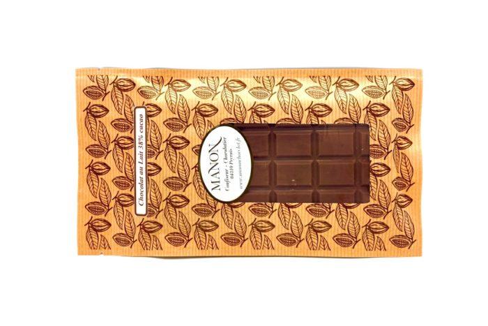 tablette chocolat au lait Manon