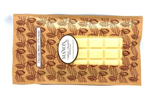 tablette de chocolat blanc Manon