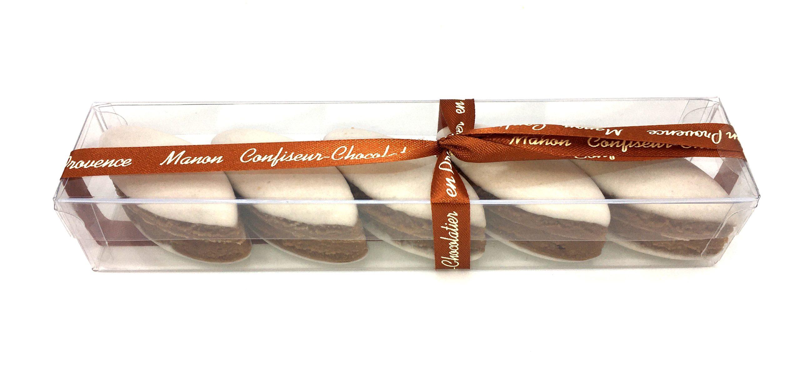 Calissons chocolat noisettes Manon