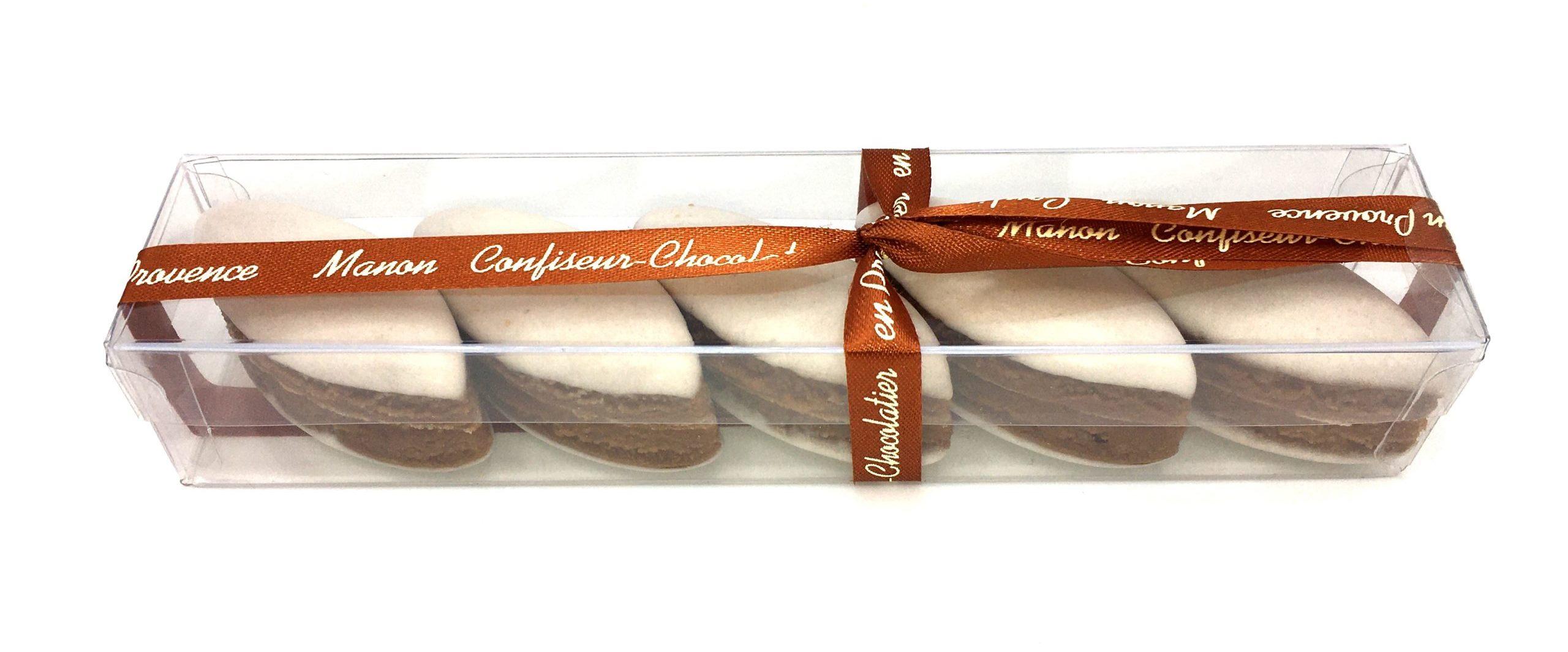 Calissons chocolat noisette