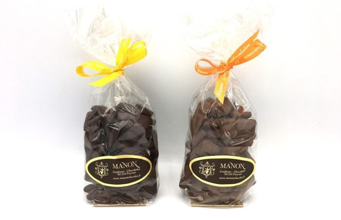 Sachet Nougatine chocolat Manon