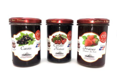 Confitures les fruits rouges des Confituriers de haute Provence