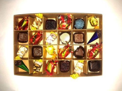 Calendrier de l'Avent chocolats confiseries Manon