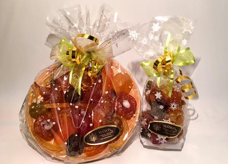 fruits confits assortis Manon